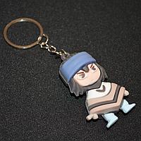 Брелок подвеска на сумку и ключи фигурка героя Саске (из Наруто)