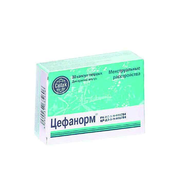Цефанорм №30 таблетки