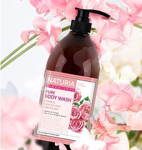 NATURIA Гель для душа РОЗА/РОЗМАРИН PURE BODY WASH (Rose & Rosemary)