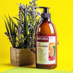 Гель для душа КЛЮКВА и АПЕЛЬСИН NATURIA PURE BODY WASH (Cranberry & Orange)