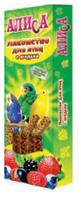 Палочки-лакомство для птиц с ягодами «Алиса», 2*35 г