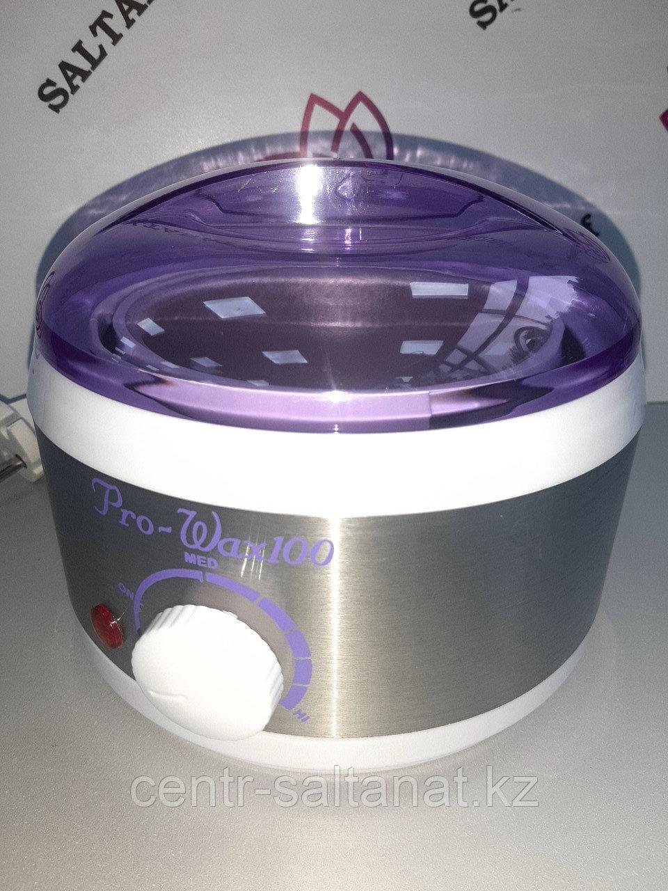 Воскоплав для депиляции баночный на 400 г для разогрева воска железный
