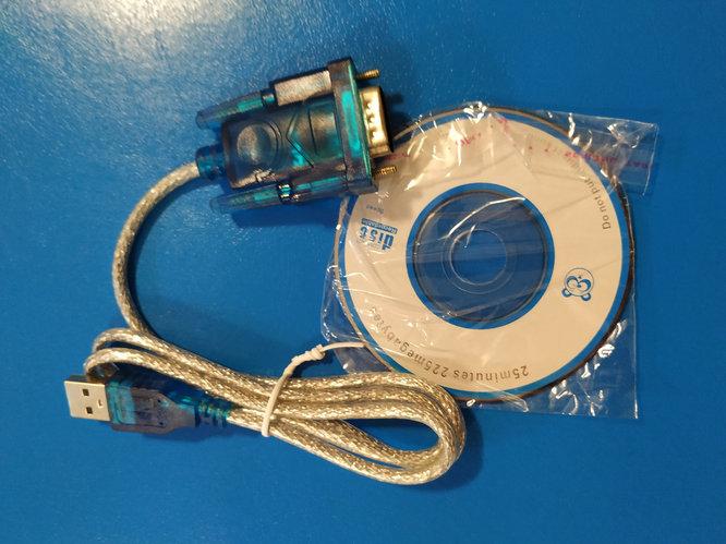Переходник USB -> RS-232 (COM)YXB 12B, Алматы