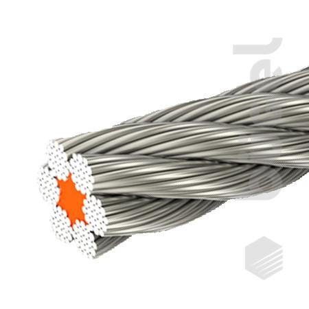 Канат стальной ГОСТ 2688-80  7,6 мм