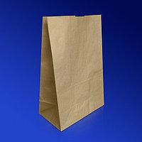 Бумажный пакет с квадратным дном, без ручки. 45*34*16