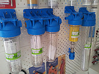 Фильтры и картриджи для воды и отопления.