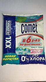 Чистящий порошок Comet, Утренняя Роса, 900 г. в мягк. упак. 0% хлора