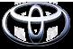 Очки в передний бампер под круглые туманки AURA Toyota Land Cruiser Prado 120