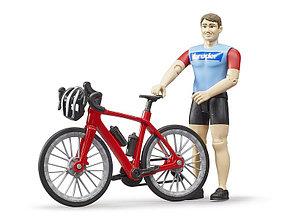Bruder Игрушечный Велосипед с фигуркой, Брудер 63-110
