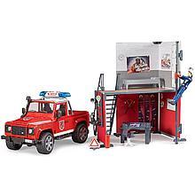 Bruder Набор Пожарная станция, Брудер 62-701