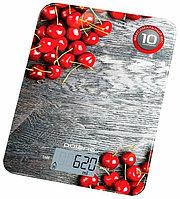 Весы кухонные электрон.Polaris PKS 1046DG, вишня