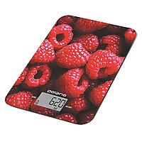 Весы кухонные электрон.Polaris PKS 1068DG Raspberry (малина)