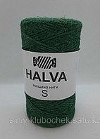 Джутовая пряжа (нить) Halva S цветная Алоэ