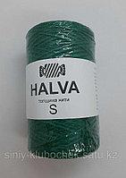 Джутовая пряжа (нить) Halva S цветная Секвойя