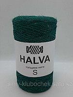 Джутовая пряжа (нить) Halva S цветная Сосна