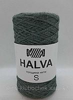 Джутовая пряжа (нить) Halva S цветная Тимьян