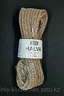 Джутовая пряжа Halva XL (джутовый канат)