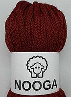 Шерстяной шнур (Пряжа) для вязания NOOGA (Нуга) Вино