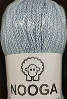 Шерстяной шнур (Пряжа) для вязания NOOGA (Нуга) Скай