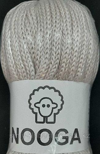 Шерстяной шнур (Пряжа) для вязания NOOGA (Нуга) Безе