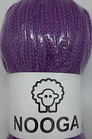 Шерстяной шнур (Пряжа) для вязания NOOGA (Нуга) Пурпурный