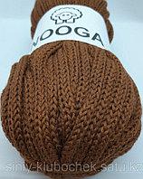 Шерстяной шнур (Пряжа) для вязания NOOGA (Нуга) Хурма