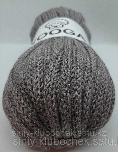 Шерстяной шнур (Пряжа) для вязания NOOGA (Нуга) Какао