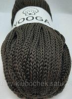 Шерстяной шнур (Пряжа) для вязания NOOGA (Нуга) Шоколад