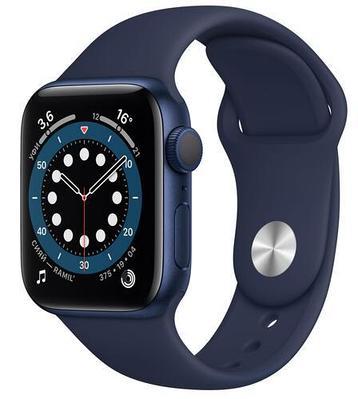 Смарт-часы Apple Watch Series 6 GPS 44mm синие