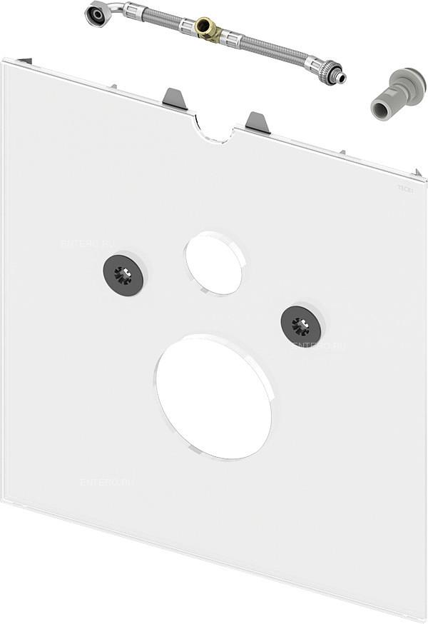 Нижняя панель кнопки смыва TECE TECElux для установки сидений-биде
