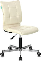 Кресло Stool Group Бюрократ CH-330M/BEIGE без подлокотников бежевый искусственная кожа крестовина металл
