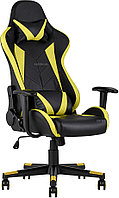 Кресло игровое TopChairs Gallardo желтое