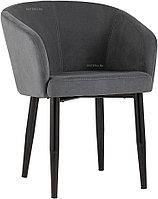 Кресло Stool Group Ральф велюр тёмно-серый