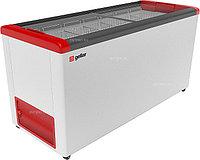 Ларь морозильный Frostor GELLAR FG 600 C красный