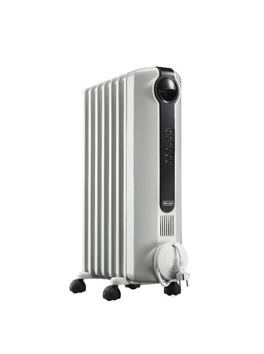 Масляный радиатор DeLonghi TRRS0715E белый - фото 3