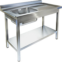 Стол приставной к посудомоечной машине Техно-ТТ СПМ-523/1207-П