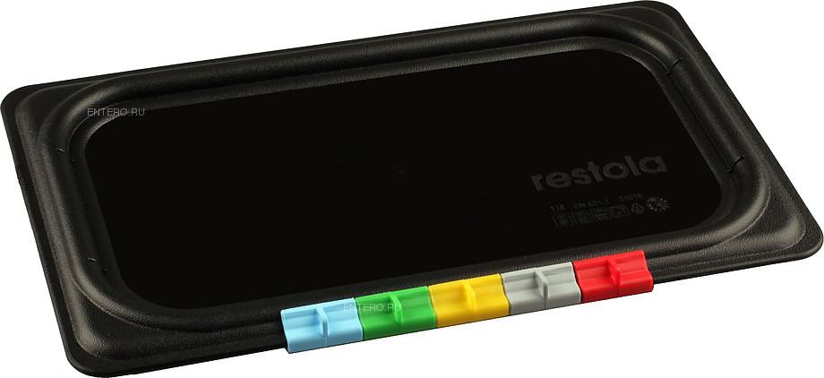Крышка для гастроемкости Restola 422101813 GN 1/4 (265х162) полипропилен