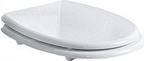 Сиденье для унитаза SIMAS Arcade AR006bi/cr с микролифтом, белый/хром