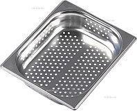 Гастроемкость Gastromix GN-P 1/2-40 (325х265х40) перф., нерж. сталь