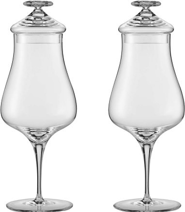 Набор бокалов Zwiesel Glas Alloro 122090 для виски с крышкой 2 шт.