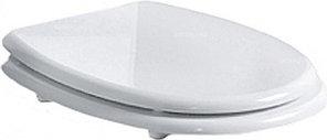 Сиденье для унитаза SIMAS Arcade AR007bi/oro с микролифтом, белый/золото