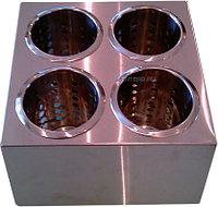 Контейнер для столовых приборов Luxstahl кт751/1