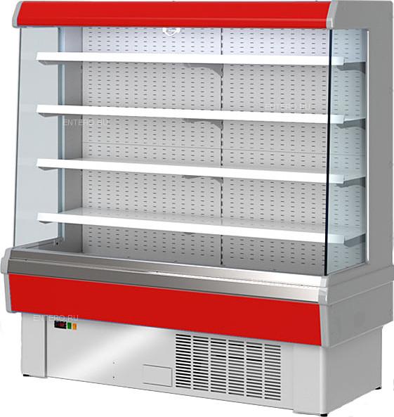 Горка холодильная Golfstream Свитязь 180 ВС красная