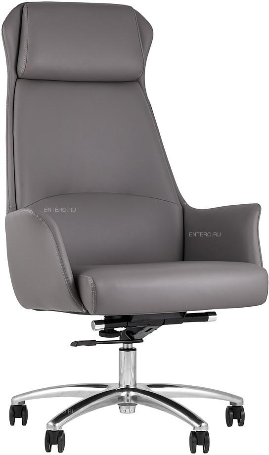 Кресло руководителя TopChairs Viking серое