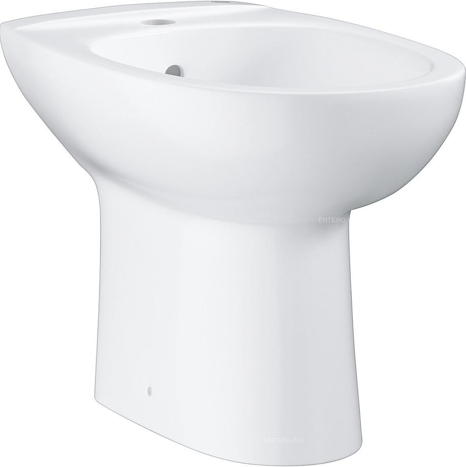 Биде напольное Grohe Bau Ceramic 39432000Gr