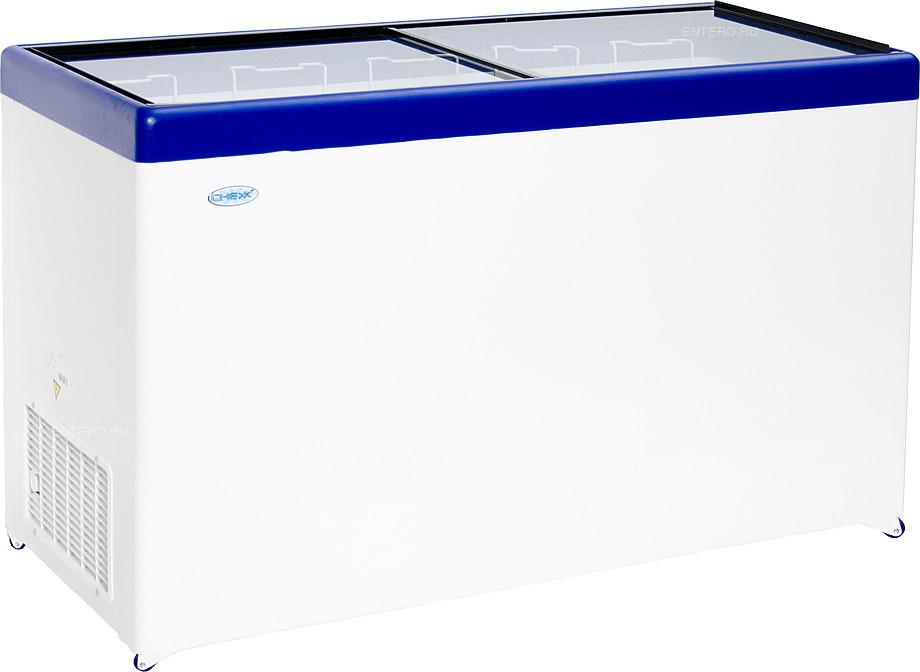 Ларь морозильный Снеж МЛП-500 серый