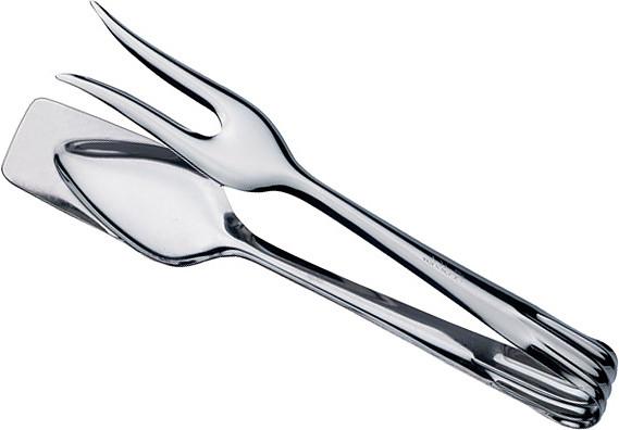 Щипцы для мяса Luxstahl 18/0-0,8ММ 210 мм