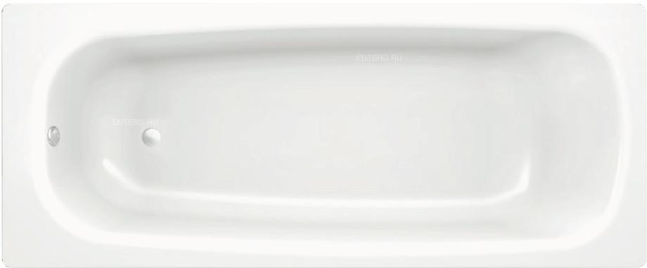 Ванна BLB UNIVERSAL HG B75H 170x75 см, без отв. для ручек, с шумоизоляцией, сталь