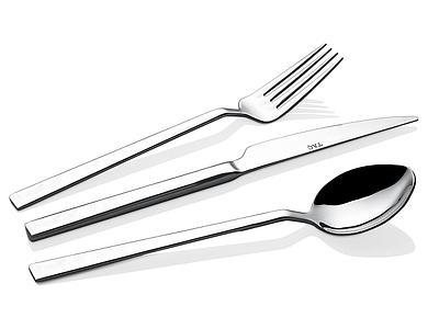 Набор столовых приборов 18 предметов TAC-5070 серебристый