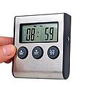 Термометр с проводным термосенсором и звуковым оповещением, фото 3